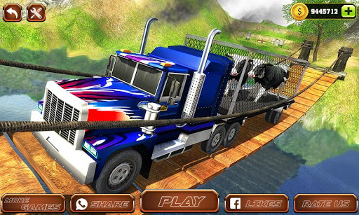 Offroad Farm Animal Truck Driving Game 2018 download 1