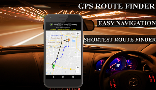 GPS Route Finder-Live Location Tracker- screenshot thumbnail