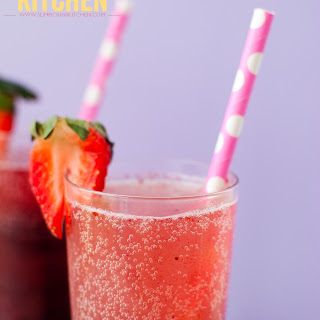 Blueberry Moscato Sparklers