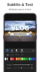 screenshot of Vlog Editor for Vlogger & Video Editor Free- VlogU