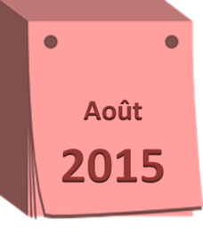 agenda aout 2015