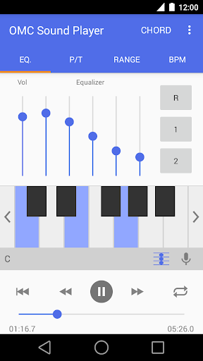 OMC Sound Player Pro 耳コピ用音楽アプリ