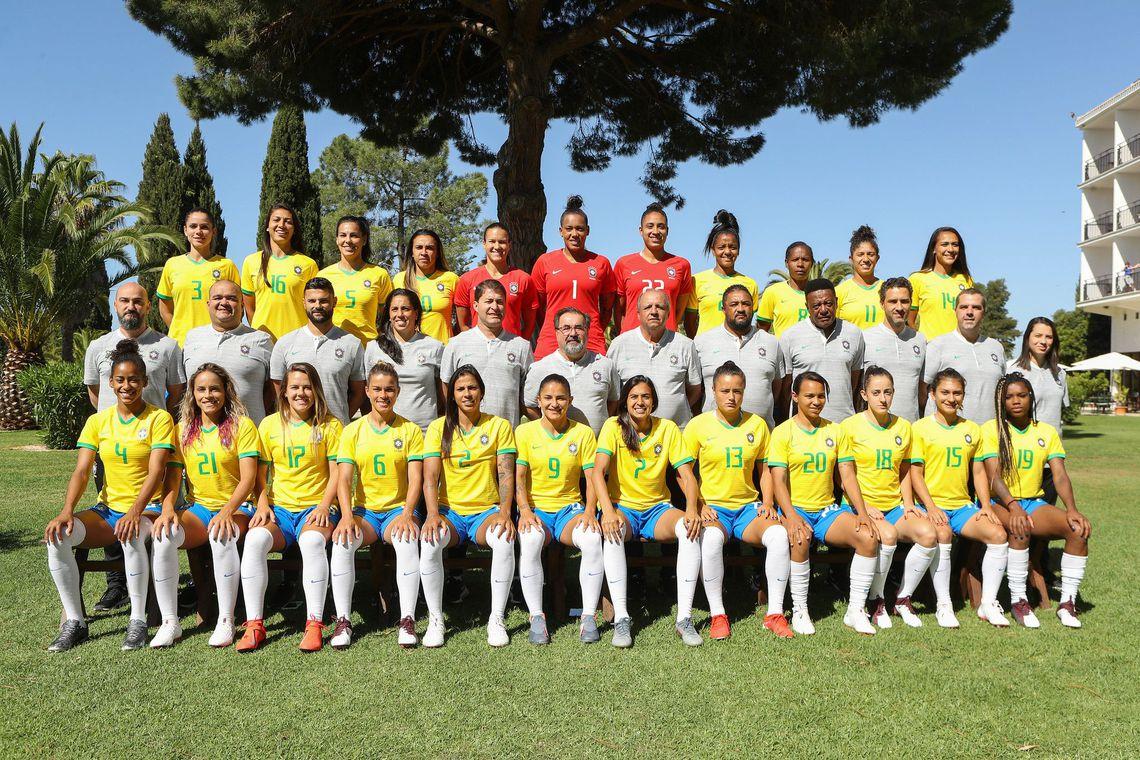 Resultado de imagem para seleção brasileira feminina