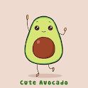 Simple Wallpaper Cute Avocado Theme icon