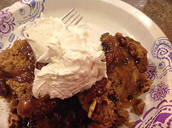 Toasted Pecan Bread Pudding & Bourbon Sauce Recipe