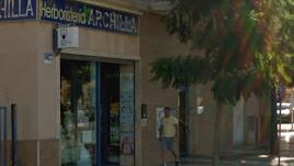 Exterior del despacho receptor, en la Avenida Carlos III de Aguadulce.