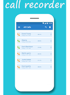 Auto caller recorder - náhled
