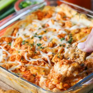 The BEST Buffalo Chicken Dip.