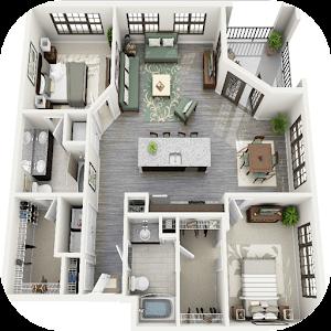 3d house floor plan ideas android apps on google play