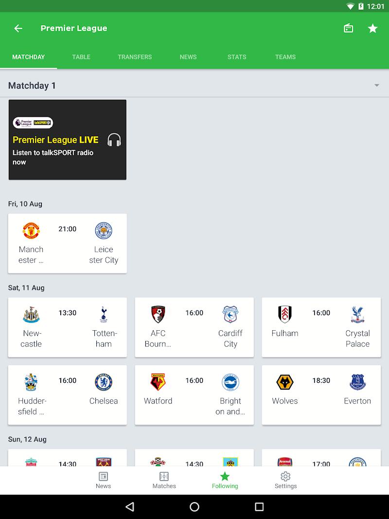 Onefootball - Soccer Scores Screenshot 14