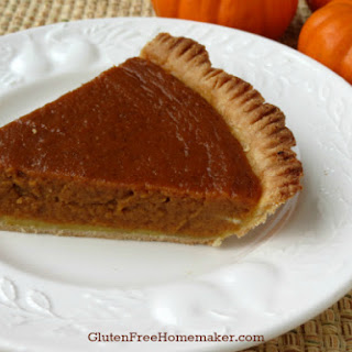 Pumpkin Pie – Gluten & Dairy Free Recipe