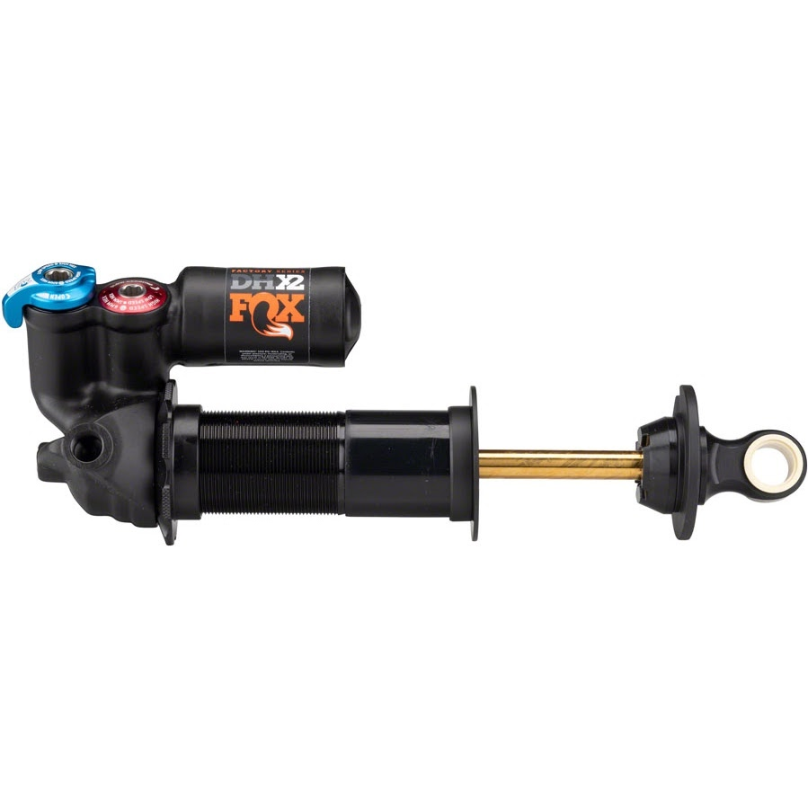 Fox Dhx2 Factory Rear Shock Trunnion Metric 2 Position Lever Ti Nitride Coat Tree Fort Bikes