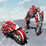 Moto Robot Transform Game Icon