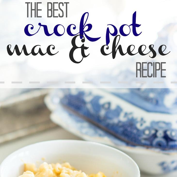 Creamy Crock Pot Macaroni and Cheese