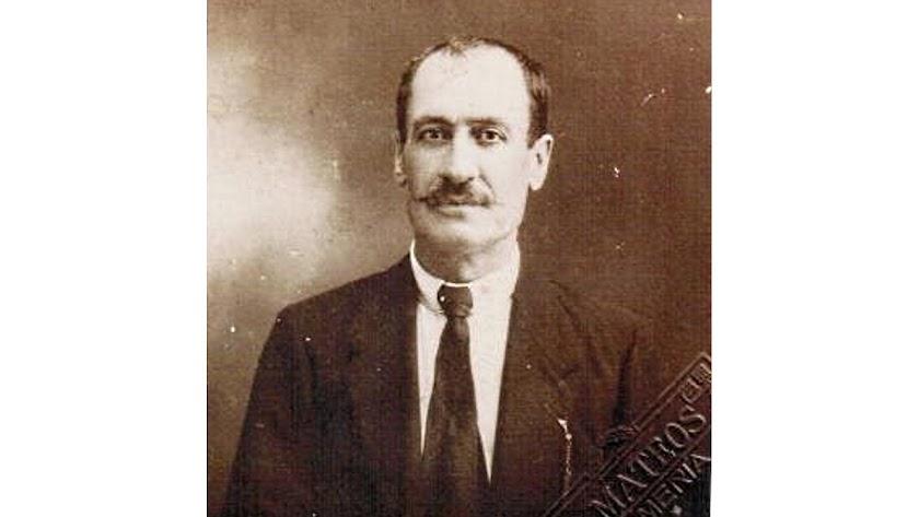 Diego Campos Pérez, en un retrato de Antonio Mateos, fue precursor del mantecado de Fondón.