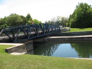 Photo: The swing bridge of Murray Canal