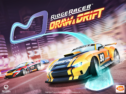 Ridge Racer Draw And Drift Screenshot