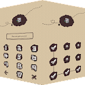 AppLock Theme ChalkDoodle icon
