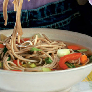 Soba Noodle Soup with Beef