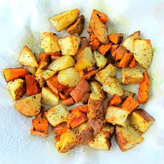 Roasted Potato Chunks.