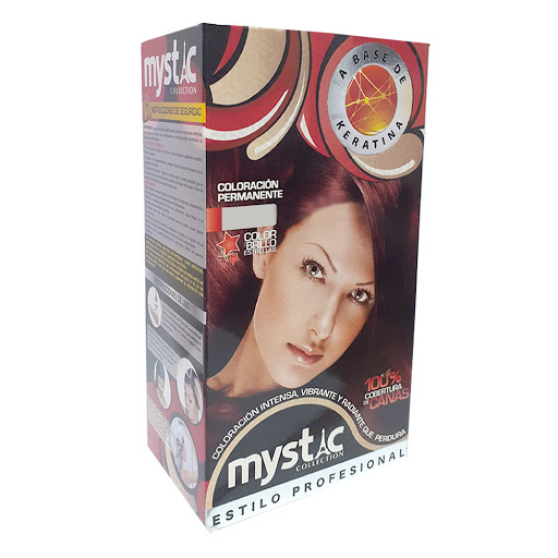 Tinte Mystic Kit 5.65 Castano Claro Rojizo Caoba (Kit 5.65)