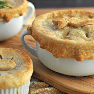 Dilled Salmon & White Bean Pot Pies.