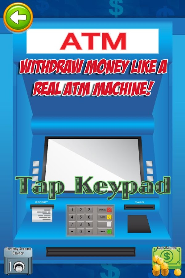 ATM Simulator: Kids Money FREE- screenshot