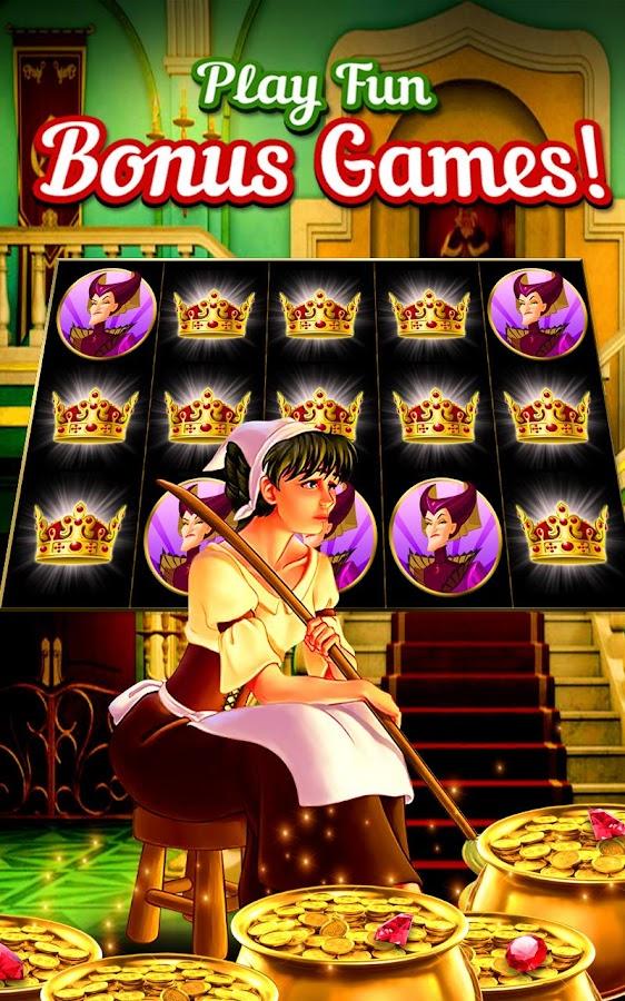 play online casino slots sinderella