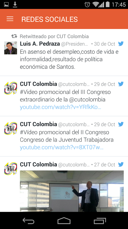 CUT Colombia- screenshot