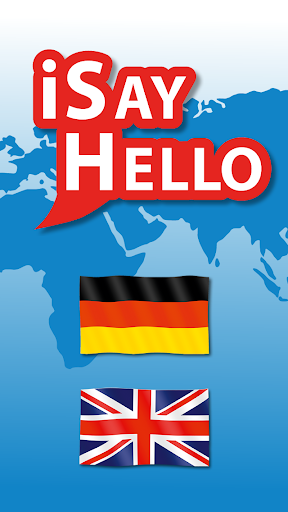 iSayHello 德语 - 英语