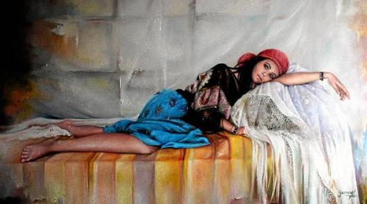 Los sueños de Garren. El pintor de Olula inaugura el viernes en la Diputación su nueva muestra