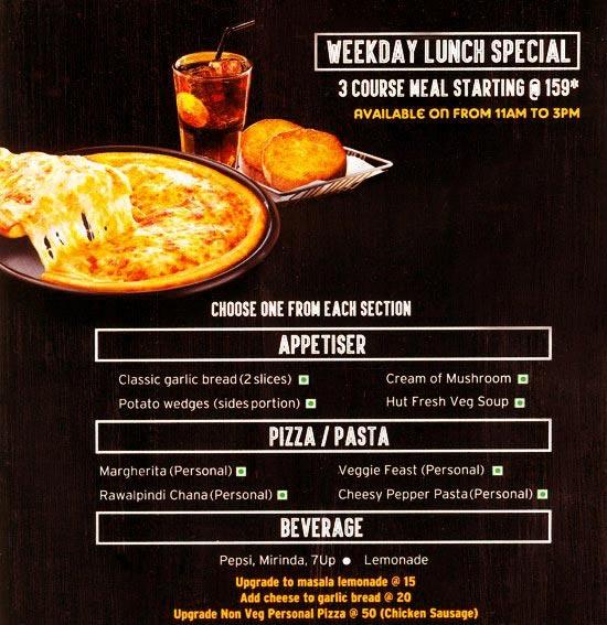 Pizza Hut menu 6