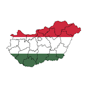 Counties of Hungary - maps, tests, quiz