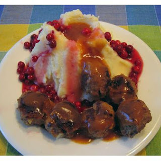 Frikadeller With Lingonberry Sauce