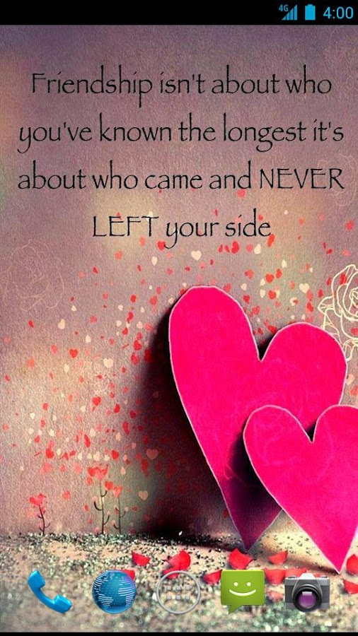 Friendship Quote Wallpapers - Android Apps on Google Play