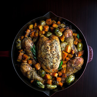 Savory Roasted Chicken & Vegetables