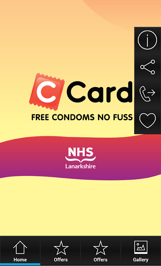 C Card NHS Lanarkshire- screenshot