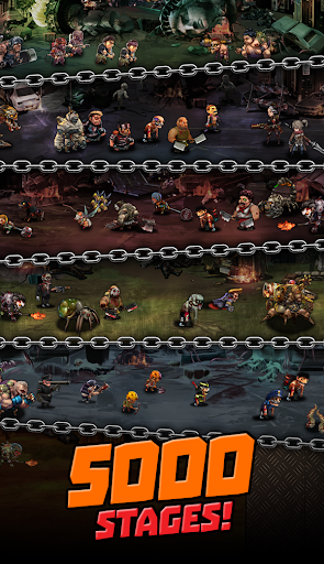 Merge Zombie : Idle RPG - screenshot