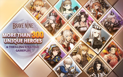 Brave Nine - Tactical RPG 1.52.13 screenshots 9