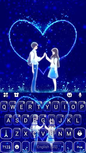 Romantic Love Keyboard Theme 1.0 screenshots 5