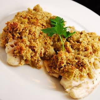 Artichoke and Parmesan Tilapia.