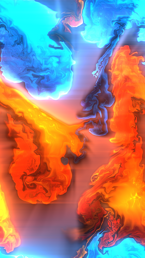 Fluid Simulation - Trippy Stress Reliever screenshot 1