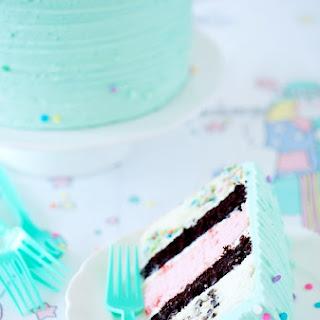 Birthday Medley Layer Cake.