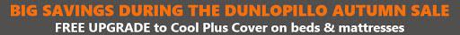 Dunlopillo Mattresses promotion