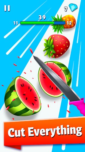 Juicy Fruit Slicer u2013 Make The Perfect Cut painmod.com screenshots 1