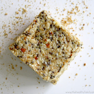 Raw Hemp and Chia Seed Energy Bars