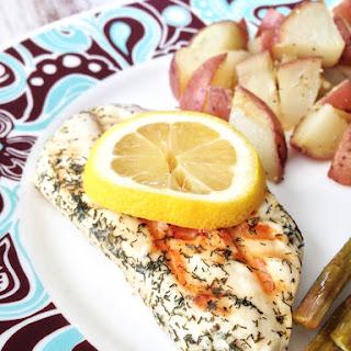 Skinny Lemon Dill Chicken Recipe