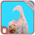 Hijab Woman Photo Suit icon