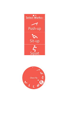 stayfit+ (gym, cardio, calorie for gear s* & fit*) screenshot 2