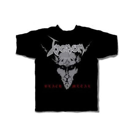 T-Shirt - Black Metal (back print)